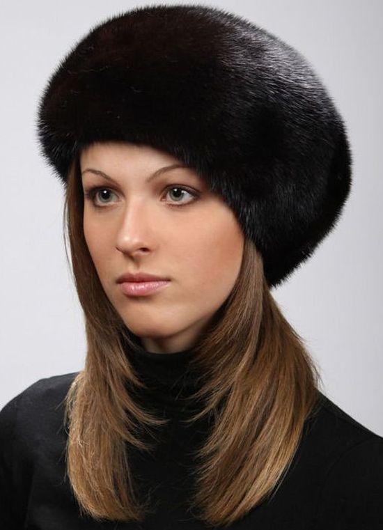 Головные уборы из меха, купить в Москве. Пошив головных уборов