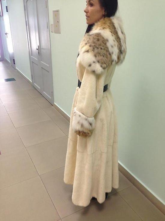 Норковая Шуба С Рысью