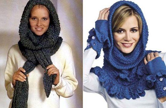 Post navigation. Как связать модную шапку и шарф