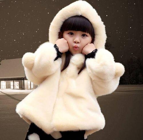 Выбираем детские шубы для девочек из натурального меха