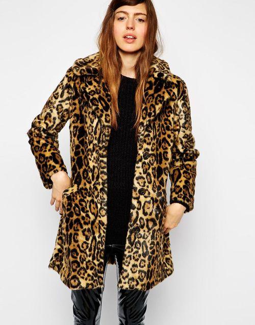 Леопардовая шуба — броско, но тепло