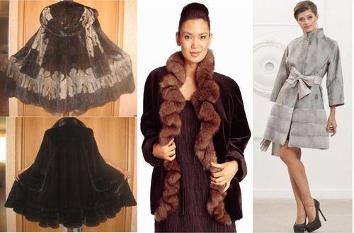 Как правильно подобрать и носить платье с шубой