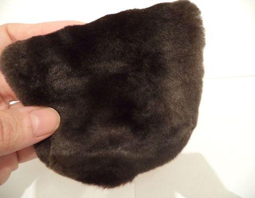 Шубы и другие изделия из меха крота