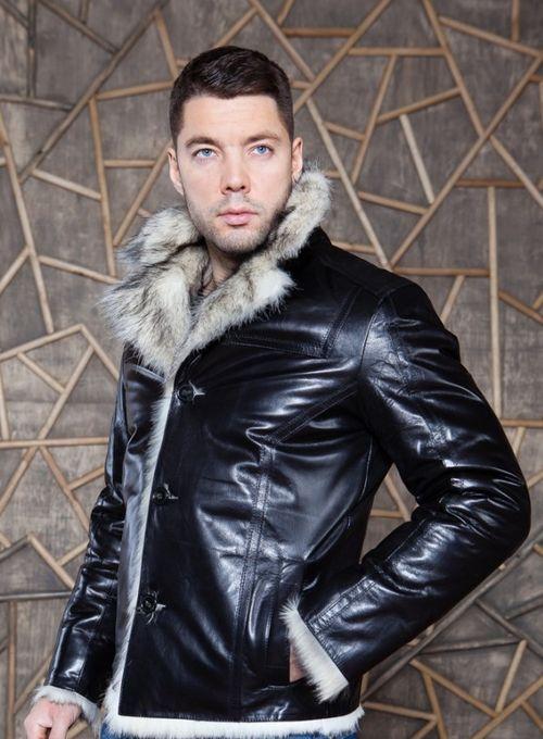 Куртка с волчьим мехом