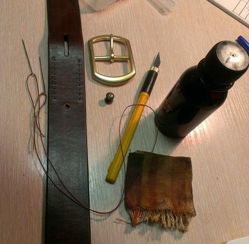 Инструменты для изготовления ремня